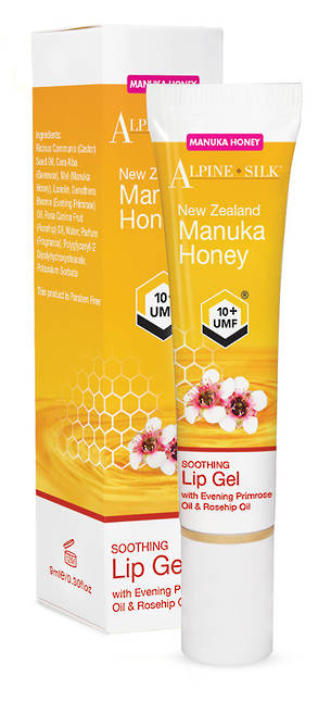 Alpine Silk Manuka Honey - Soothing Lip Gel