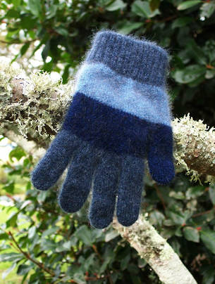 Cosy Kids Childs Striped Glove