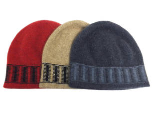 CK608 Child's stripe trim Beanie
