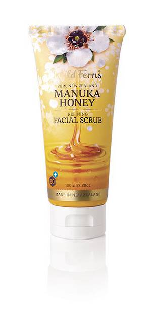 Wild Ferns Manuka Honey Refining Facial Scrub
