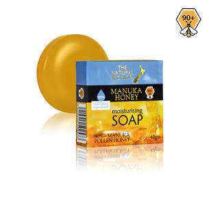 The Natural World Manuka Honey Moisturising Soap 40gm