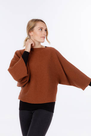 NB819 Batwing oversize Sweater