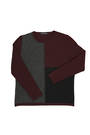 NE729 Crew Block Sweater
