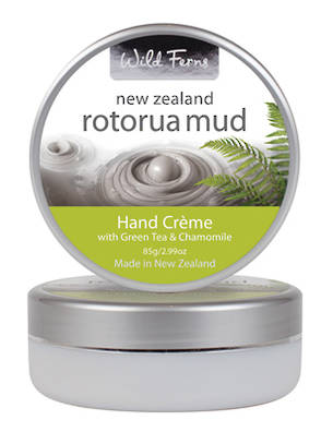 Wild Ferns Rotorua Mud Hand Creme with Green Tea