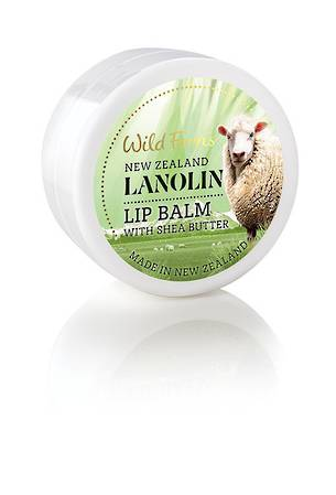 Wild Ferns Lanolin Lip Balm