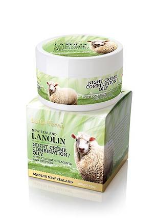 Wild Ferns Lanolin Night Creme with Collagen