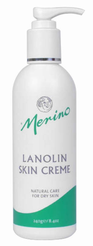 Merino Lanolin Skin Creme  -  240ml Pump